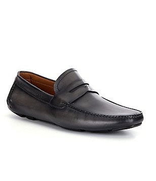 Magnanni Dylan Men's Moc-Toe Penny Loafers