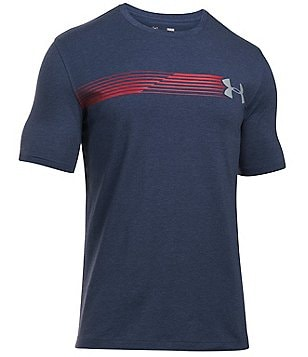 Under Armour Fast Logo Crewneck Tee