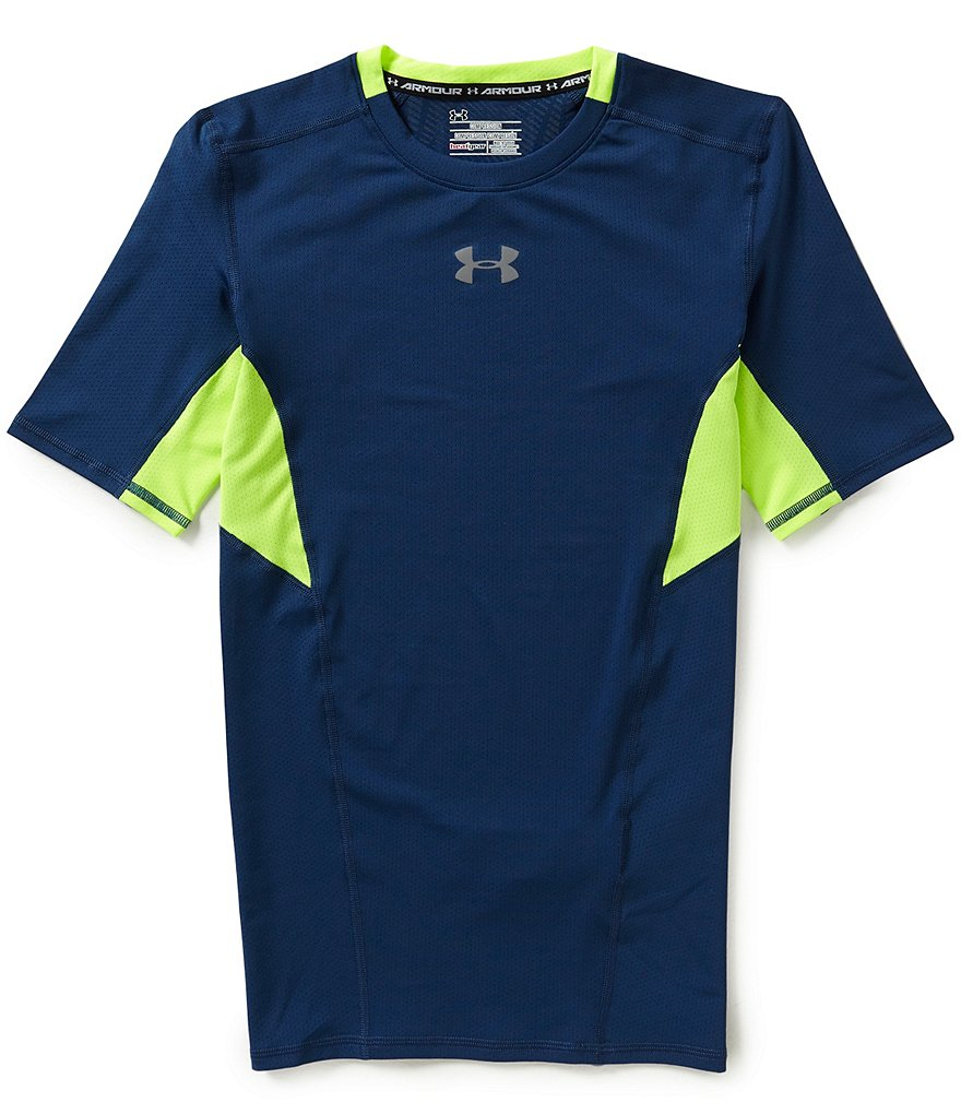 Under Armour HeatGear Coolswitch Compression Short-Sleeve Tee