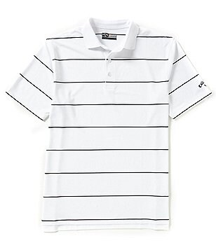 Callaway Opti-Stretch Horizontal-Stripe Polo Shirt