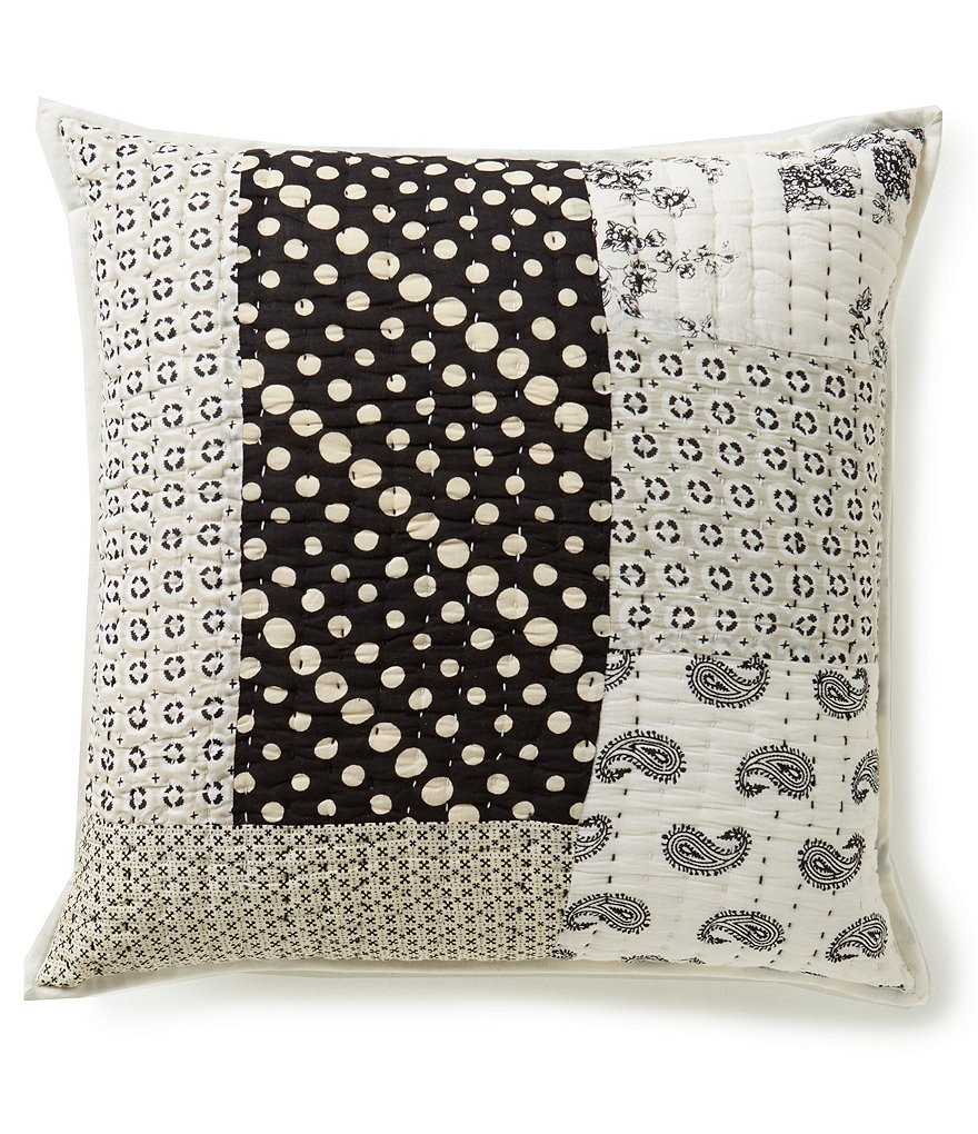 Studio D Eliza Patchwork Square Pillow