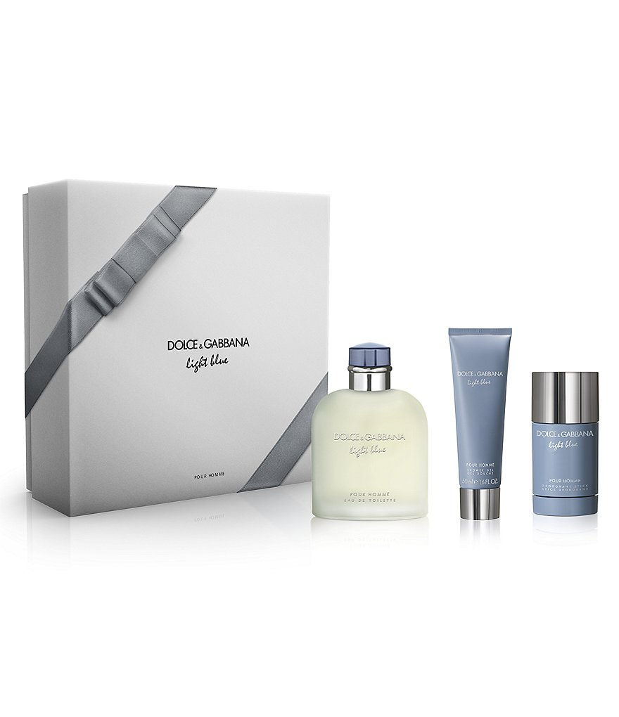 Dolce & Gabbana Light Blue Men's Gift Set
