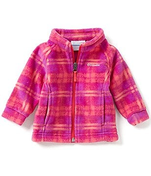 Columbia 3-24 Months Benton Springs II Printed Fleece Jacket
