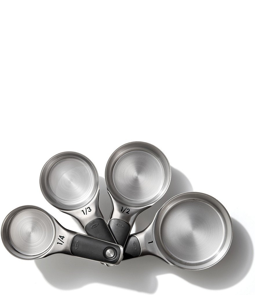 OXO Good Grips 4-Piece Stainless Steel Measuring Cup Set