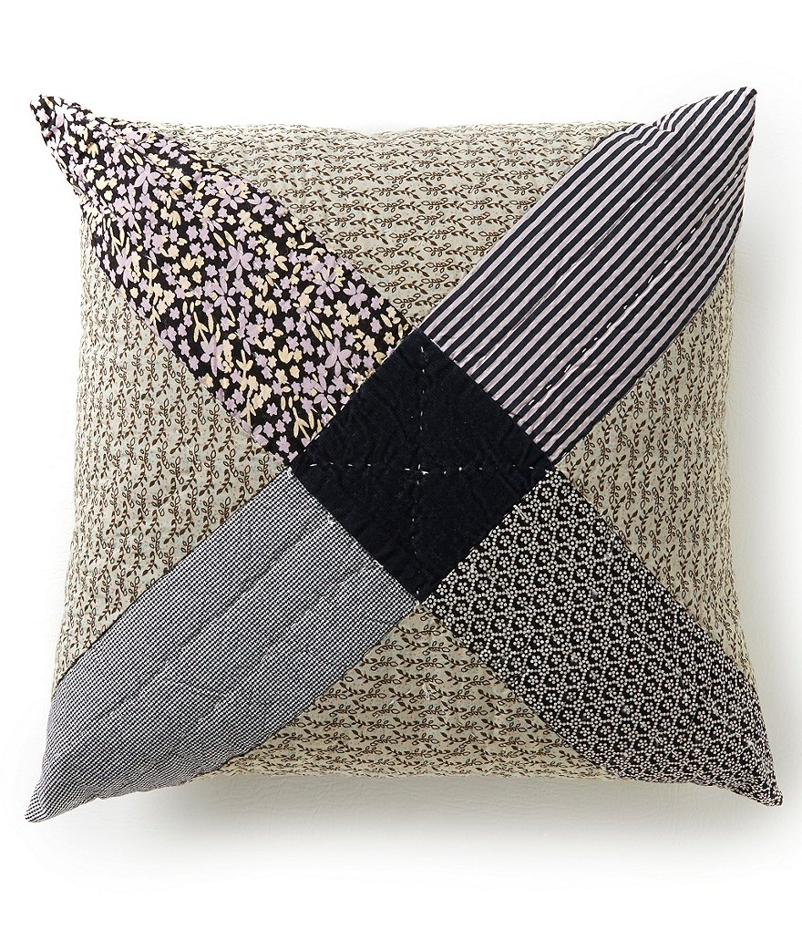 Studio D Tasha Square Patchwork Pillow