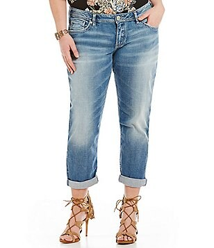 Silver Jeans Co. Plus Boyfriend Jean