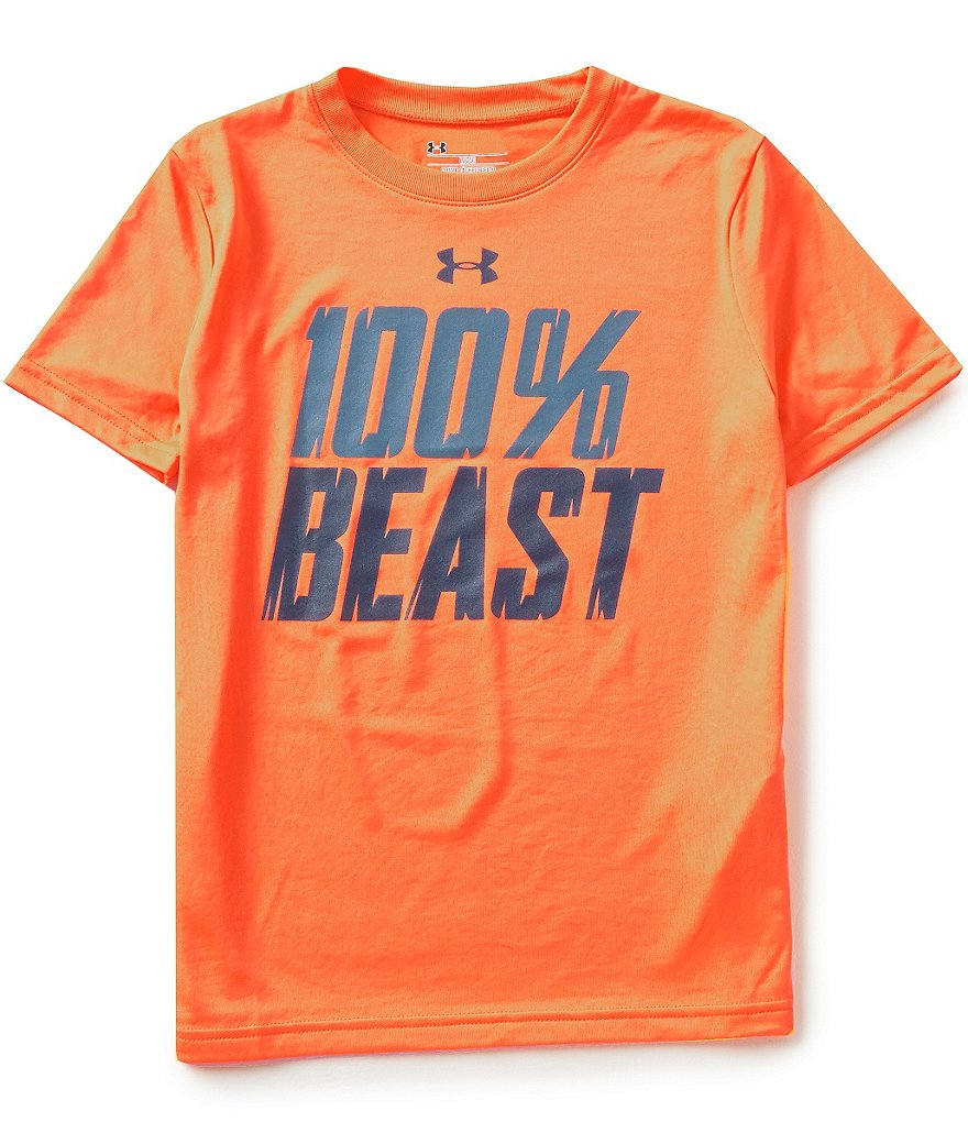 Under Armour Big Boys 8-20 100-Percent Beast Tee