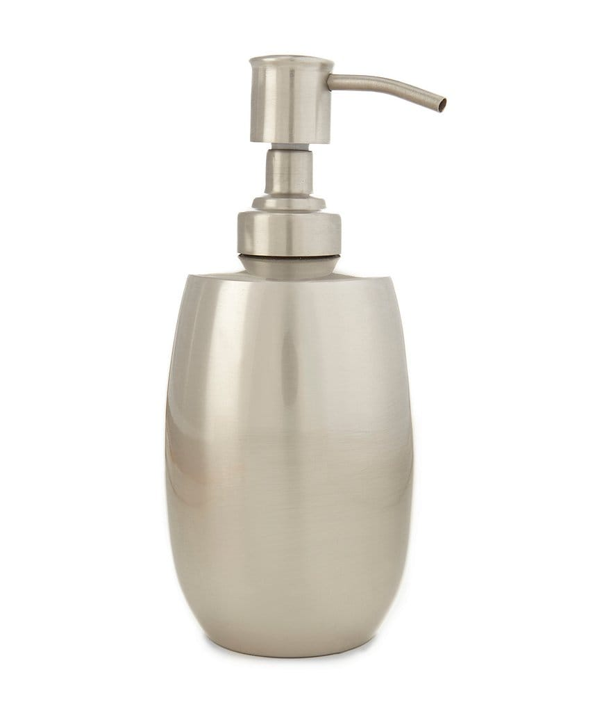 Southern Living Pewter-Finished Lotion Dispenser