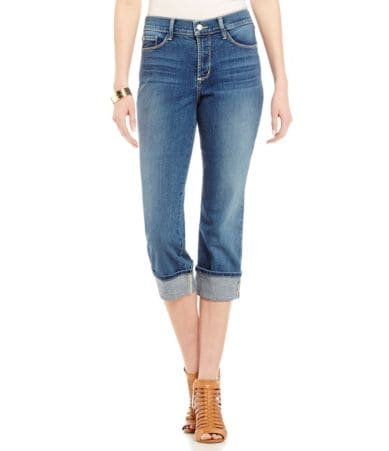 Cool Jean Capris Levi39s Women39s 515 Cuffed Capri Jean At Amazon  High