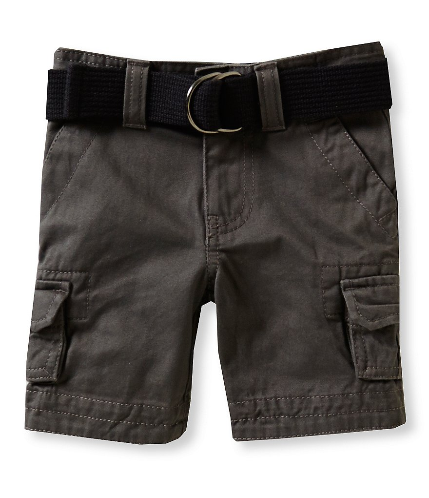 First Wave Little Boys 2T-7 Belted Cargo Shorts