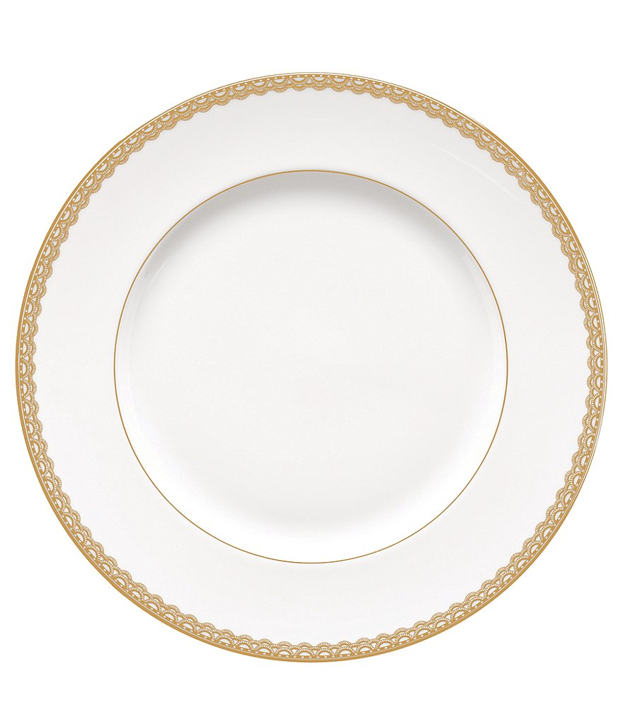 Waterford Lismore Lace Gold Dinner Plate