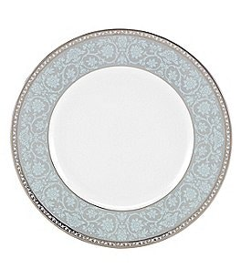 Lenox Westmore Floral Platinum Bone China Accent Salad Plate Image