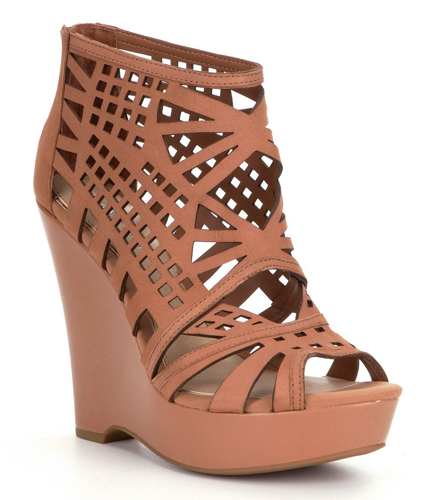 Gianni Bini Pallina Cutout Wedges