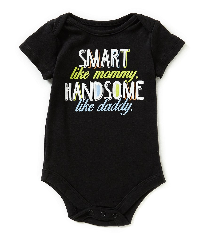 Baby Starters Babies With Attitude Baby Boys 3-12 Months Smart One Bodysuit