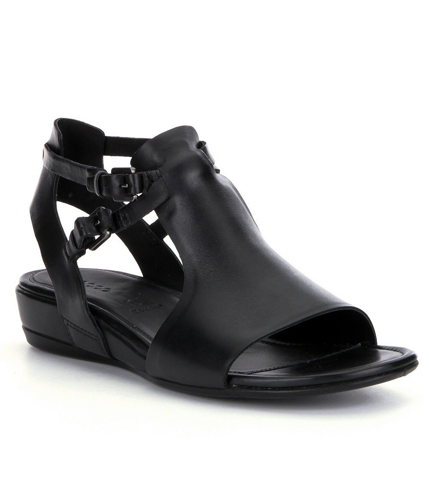 Black ecco sandals - Ecco Touch 25 Hooded Sandals