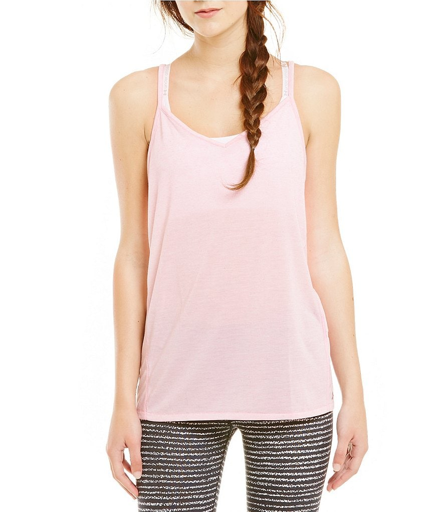 Under Armour Strappy Linen Tank