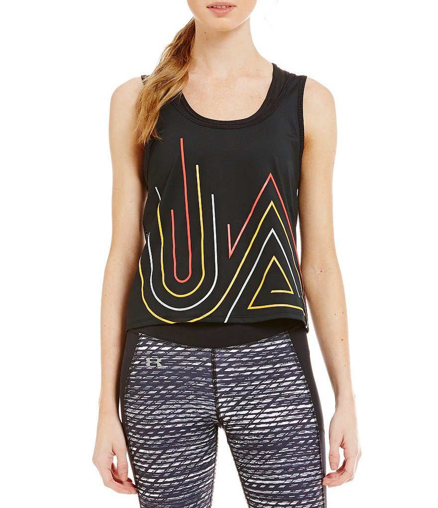 Under Armour Fly by Graphic Midi Tank Top