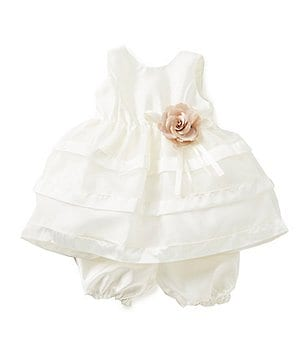 Jayne Copeland Baby Girls 12-24 Months Ribbon-Trimmed Dress