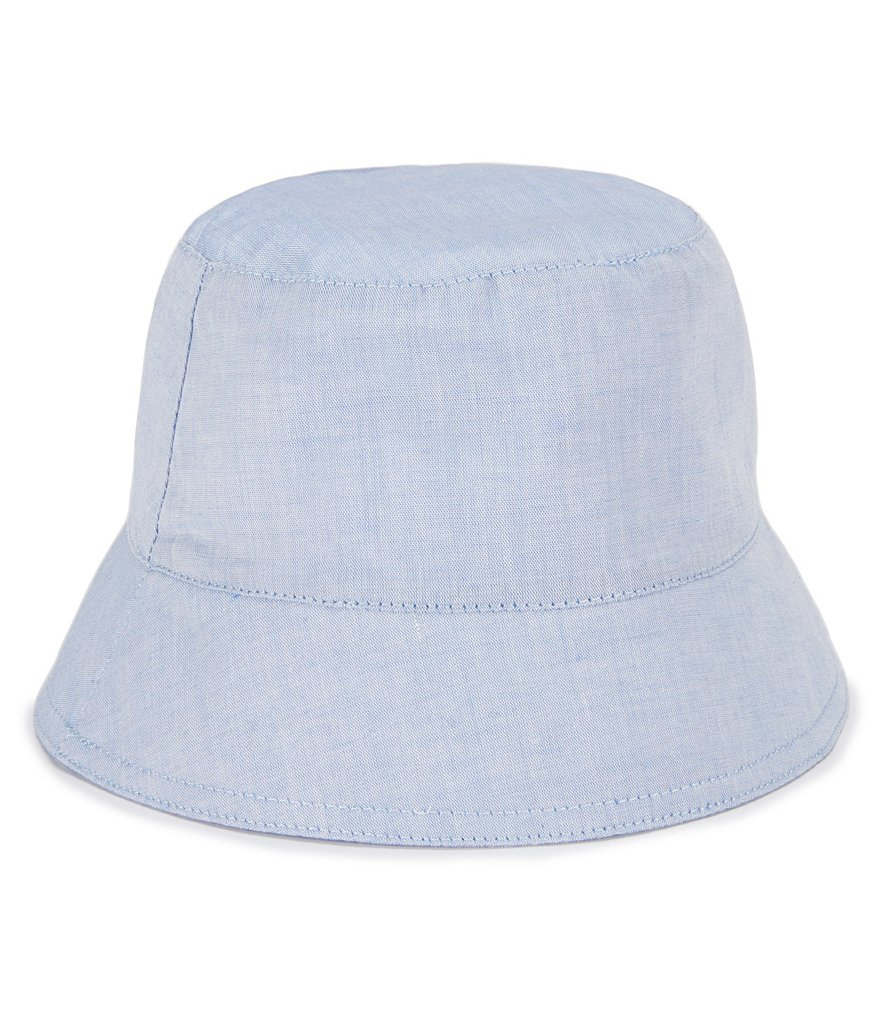Starting Out Baby Boys Chambray Bucket Hat