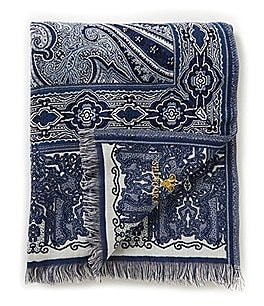 Noble Excellence Paisley Throw