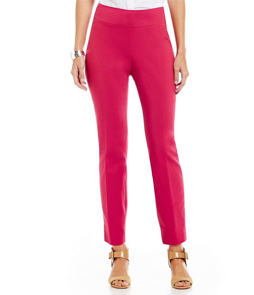 Investments Petite the PARK AVE fit Pull-On Ankle Pant