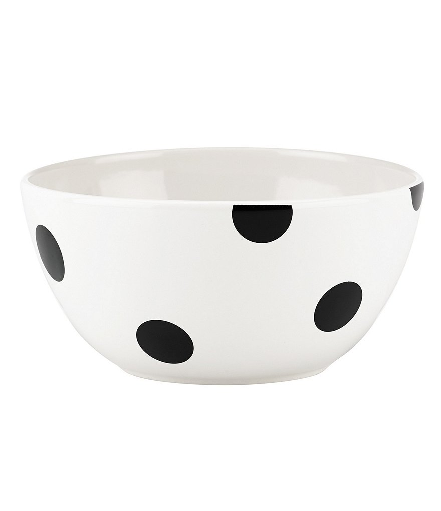 kate spade new york All in Good Taste Deco Dot Stoneware Cereal Bowl