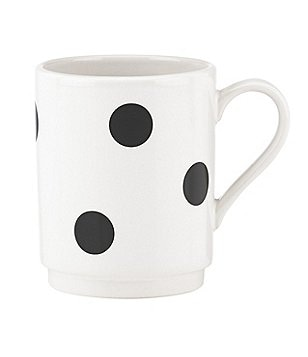 kate spade new york All in Good Taste Deco Dot Stoneware Mug