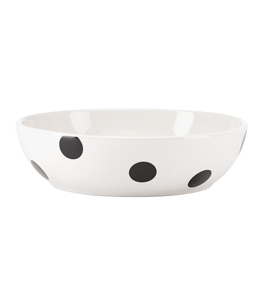 kate spade new york All in Good Taste Deco Dot Stoneware Pasta Bowl