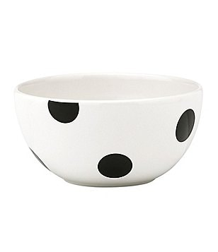 kate spade new york All in Good Taste Deco Dot Stoneware Fruit Bowl