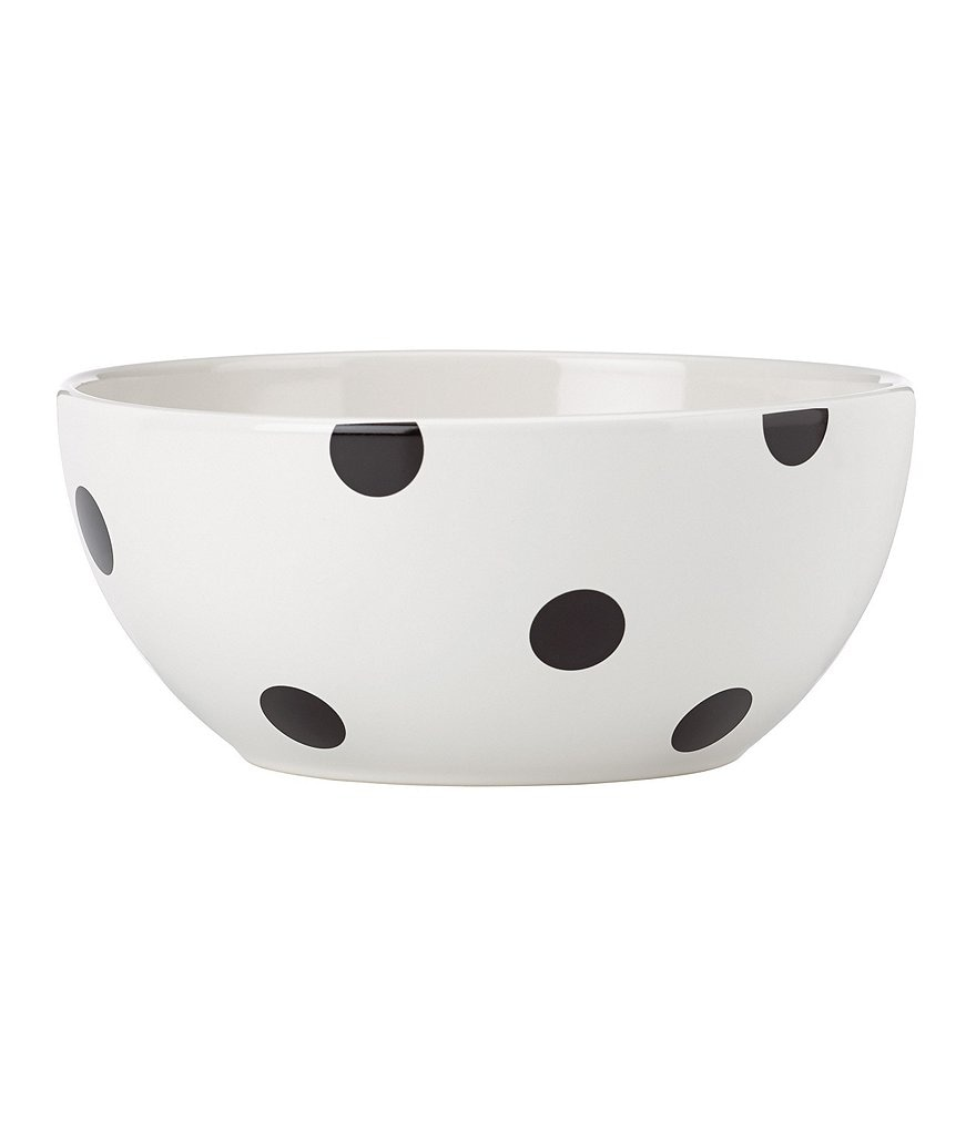 kate spade new york All in Good Taste Deco Dot Stoneware Serving Bowl