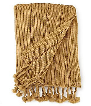 Noble Excellence Rope Fringe Throw