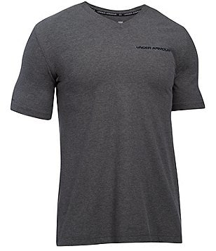 Under Armour Charged Cotton® Microthread V-Neck Tee