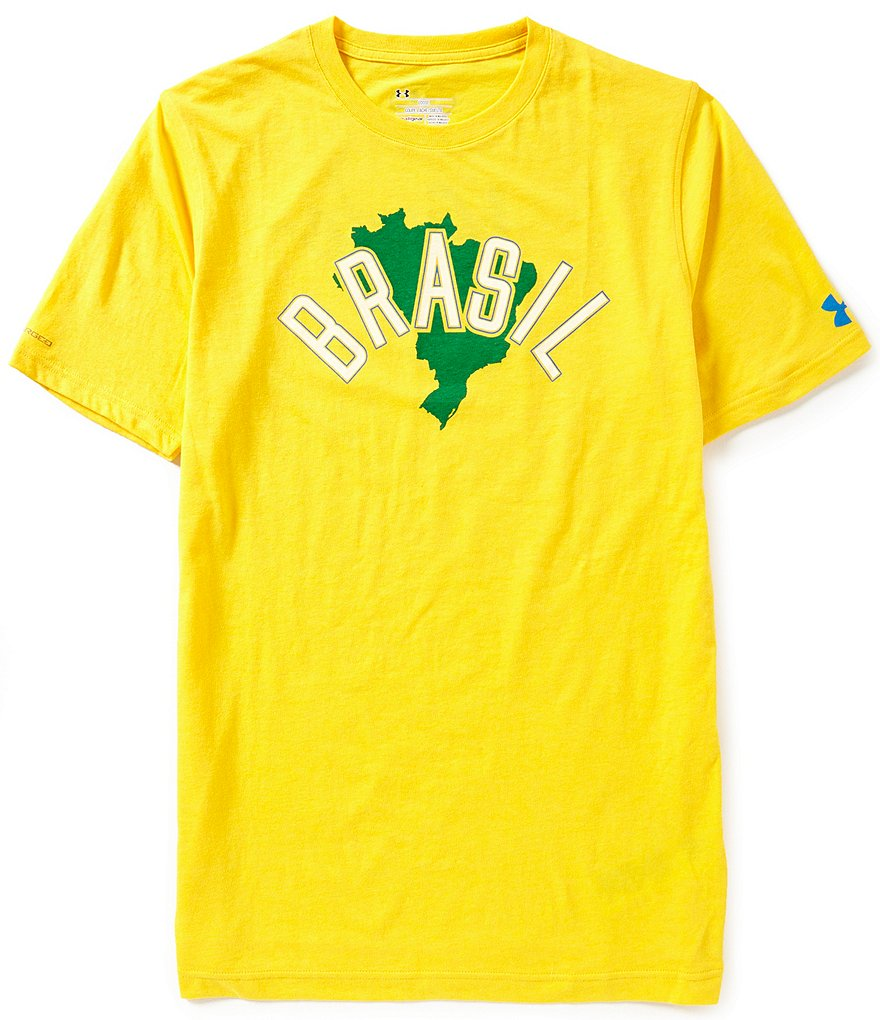 Under Armour Country Pride Brasil Graphic Tri-Blend Crewneck Tee