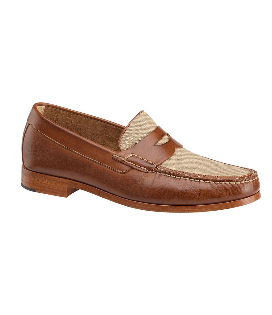 Johnston & Murphy Danbury Penny Loafers