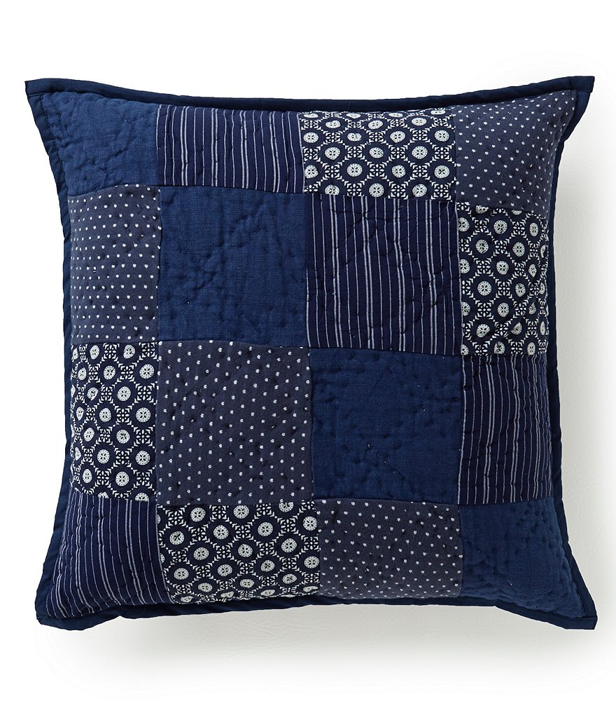 Cremieux Zach Patchwork Square Pillow