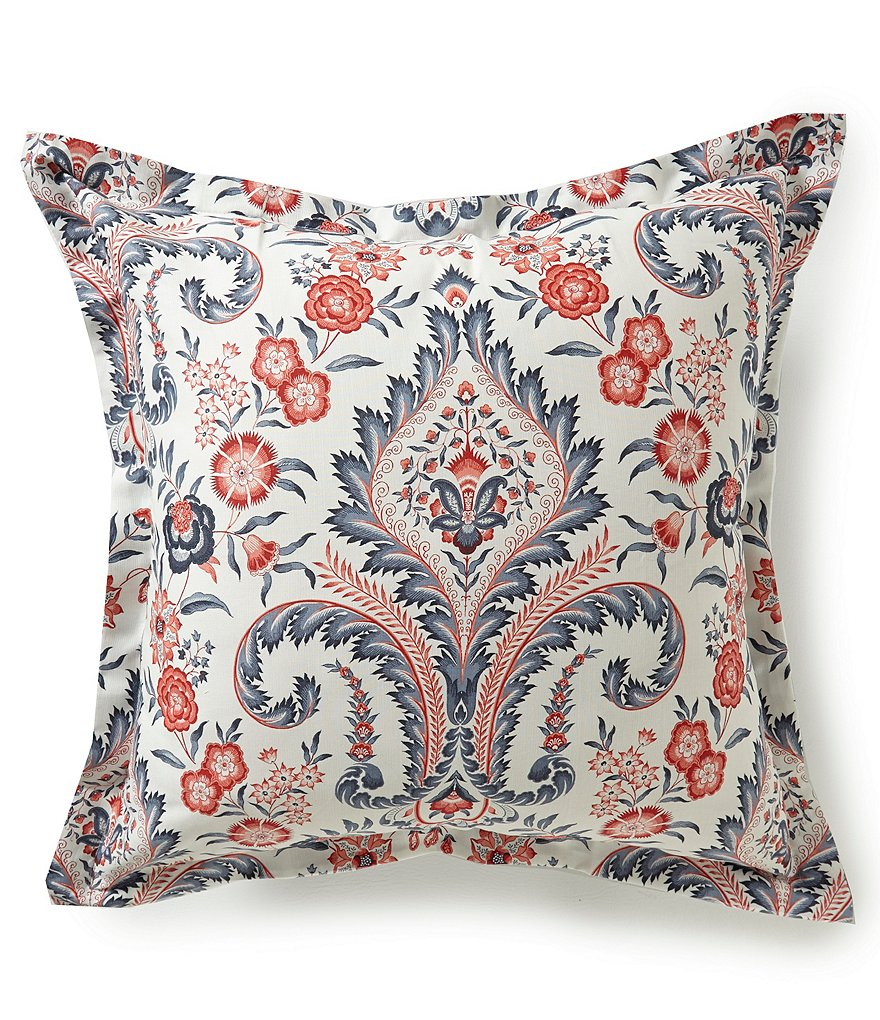 Southern Living Calisto Floral Damask Euro Sham