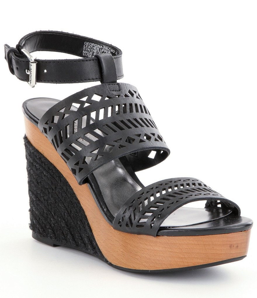 Lauren Ralph Lauren Georgina Wedge Sandals