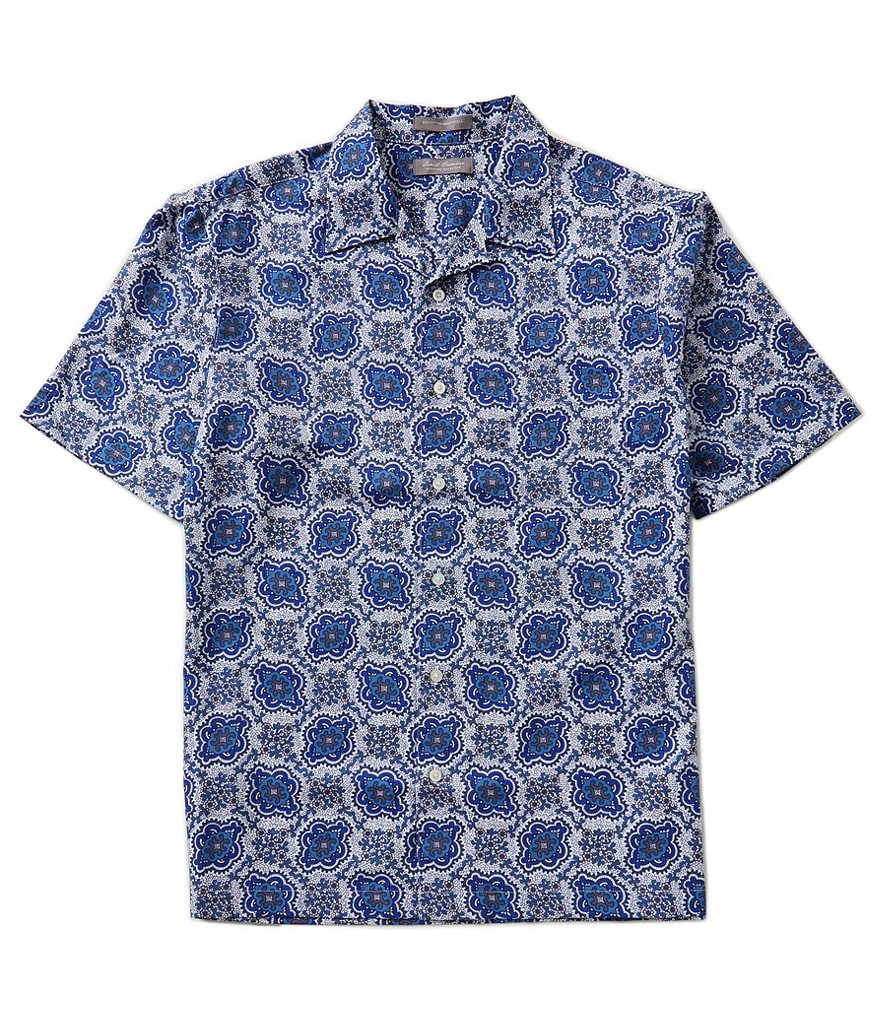 Daniel Cremieux Signature Short-Sleeve Printed Camp Woven Shirt