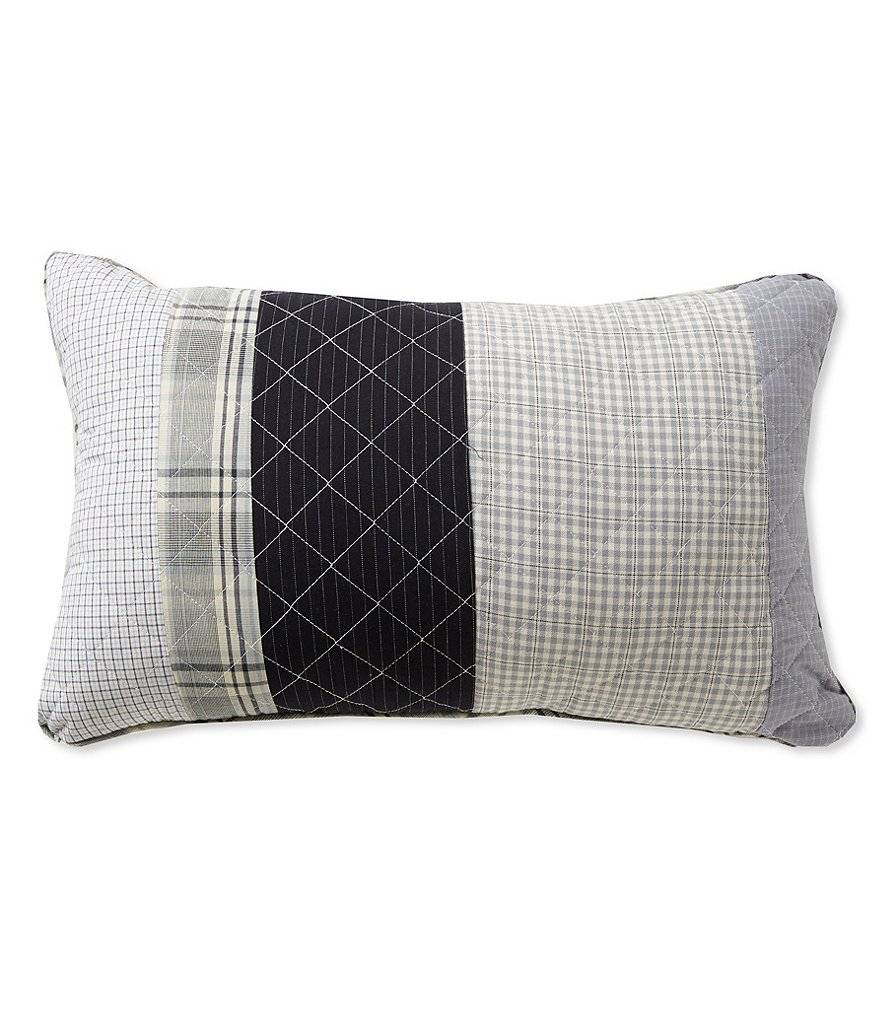 Cremieux Benson Quilted Pieced Breakfast Pillow