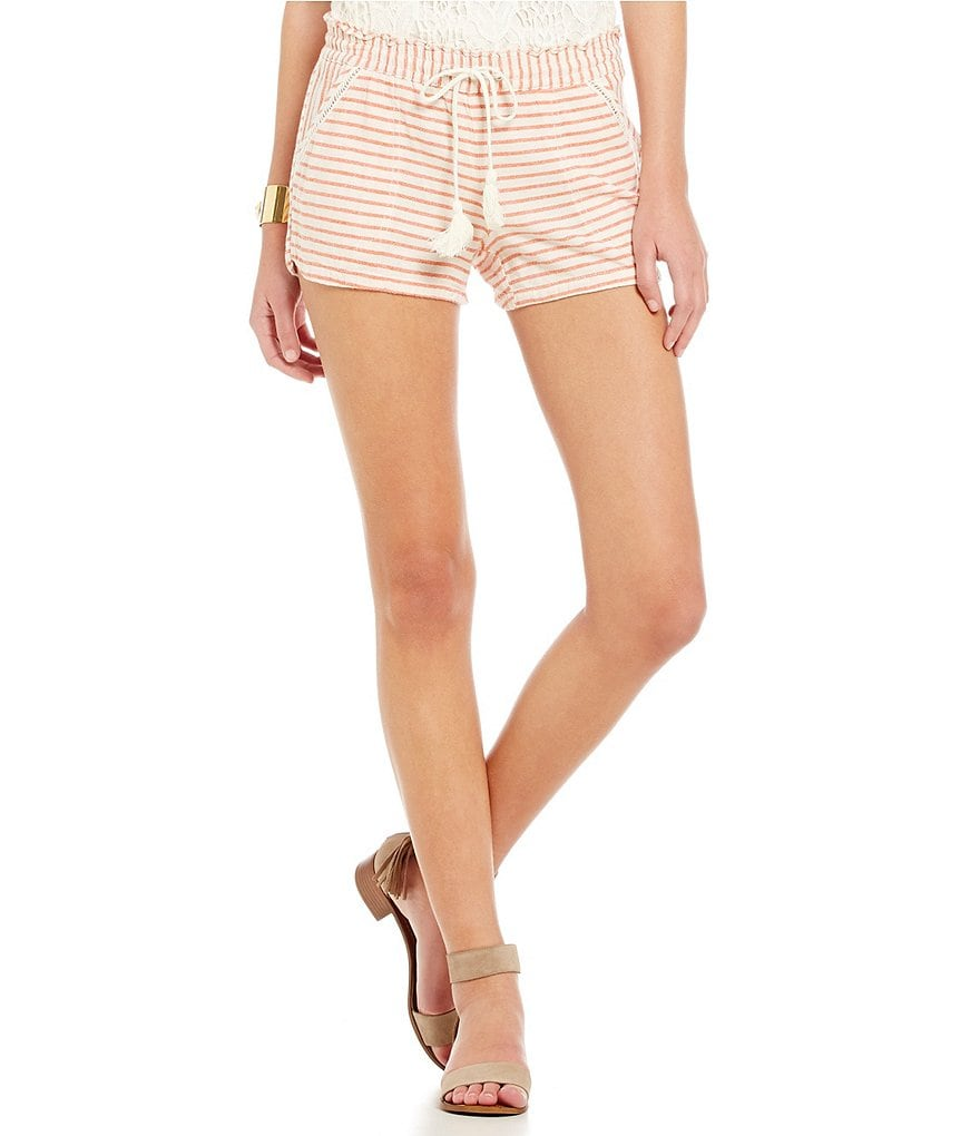 Jolt Striped Shorts