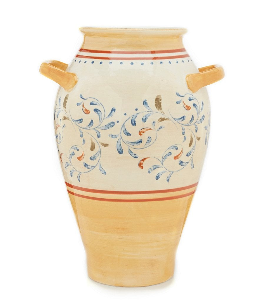 Artimino Sienna Vase with Handles