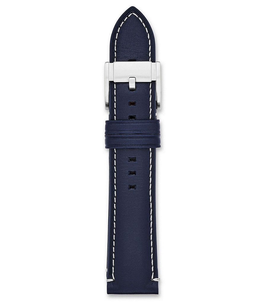 Fossil Blue Leather Watch Strap