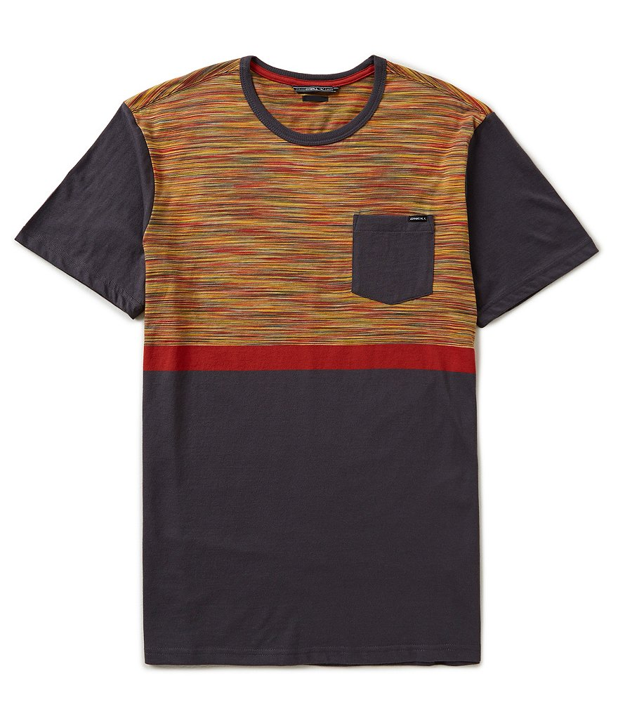 O´Neill Pugsley Space-Dyed Crewneck Pocket Tee