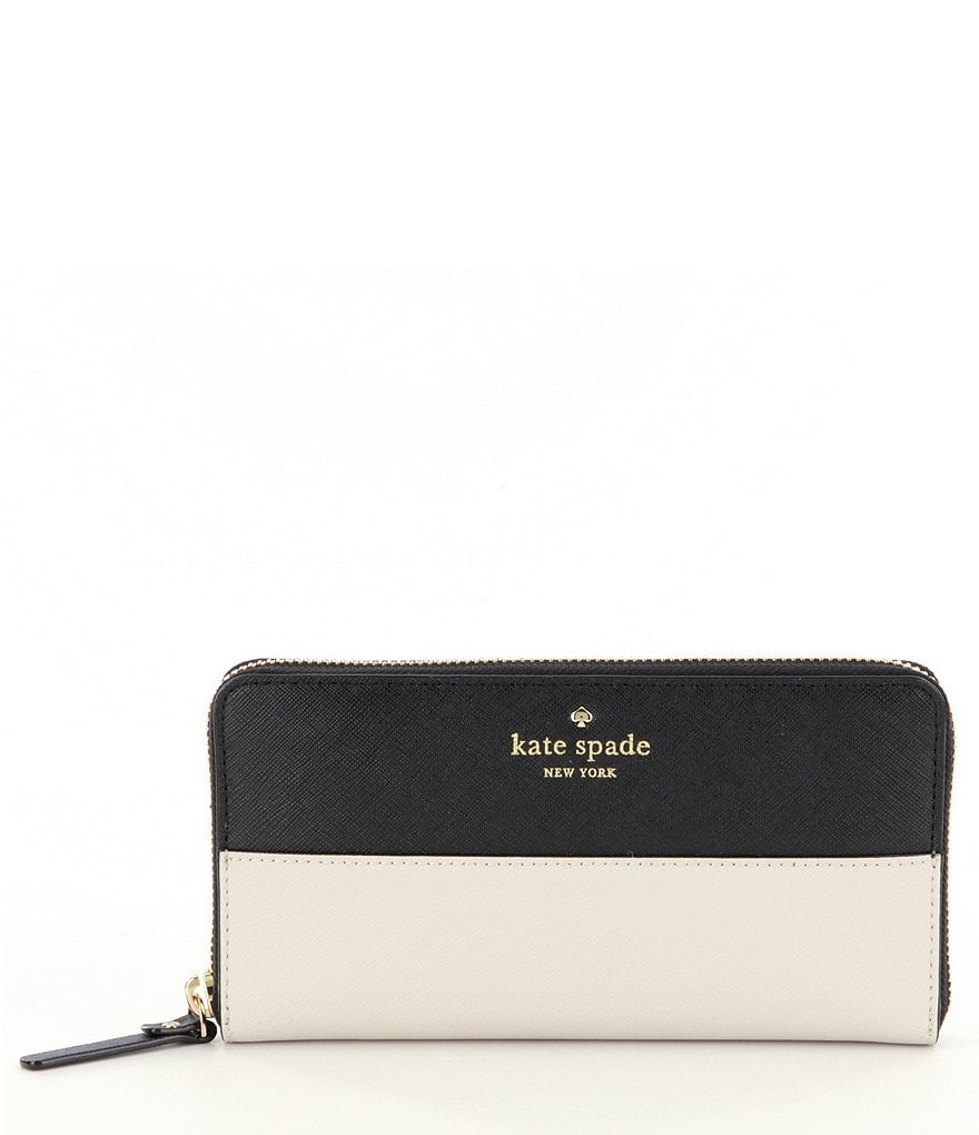 kate spade new york Lacey Color Block Zip-Around Wallet