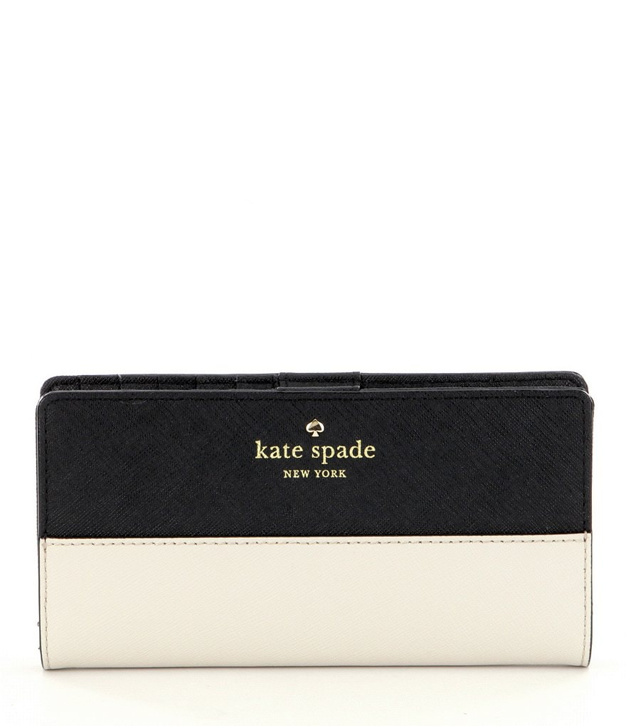 kate spade new york Stacy Color Block Continental Wallet