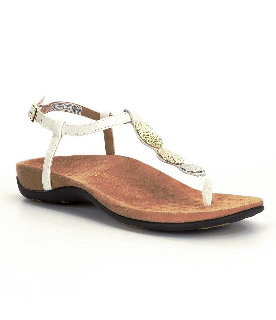Vionic® Lizbeth Metallic Sandals