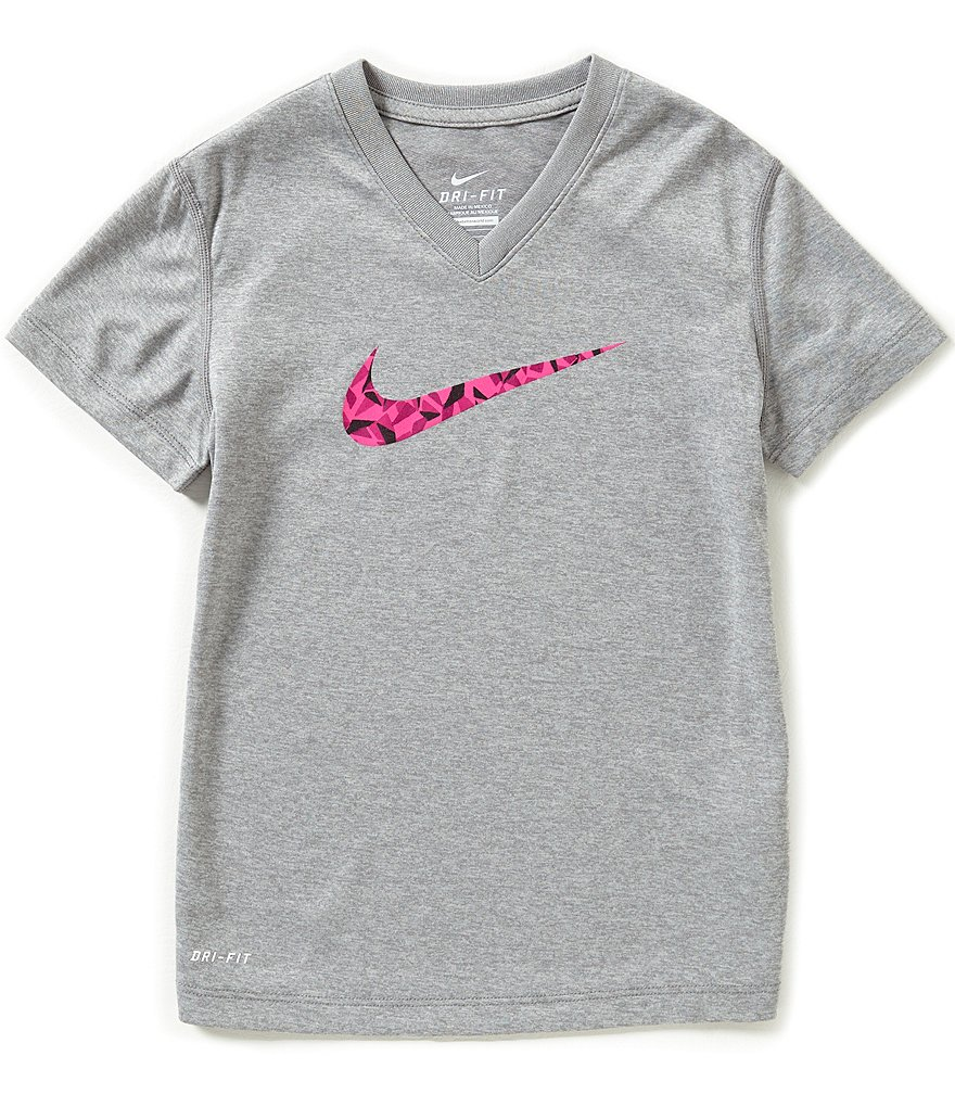Nike Big Girls 7-16 Legend Short-Sleeve Tee