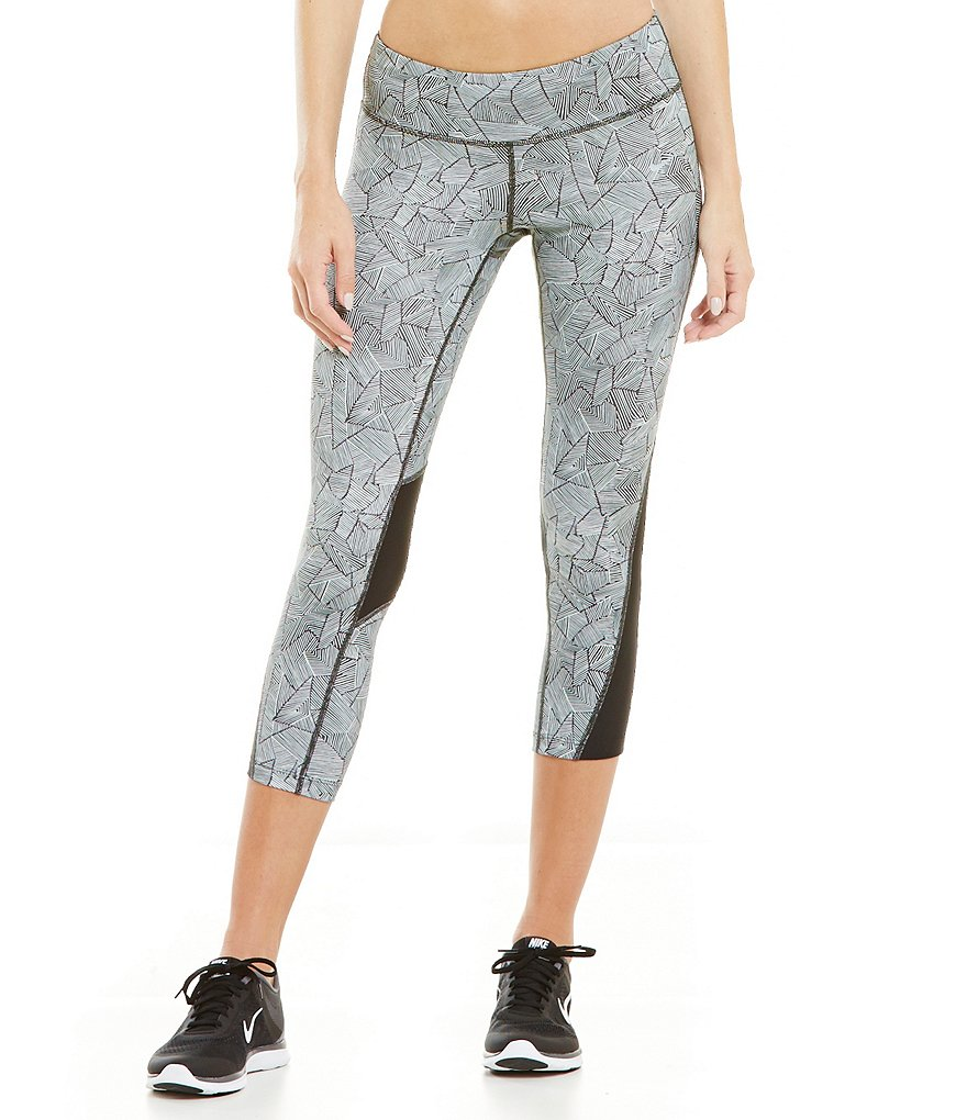 Nike Running Canopy Print Racer Crop Pant