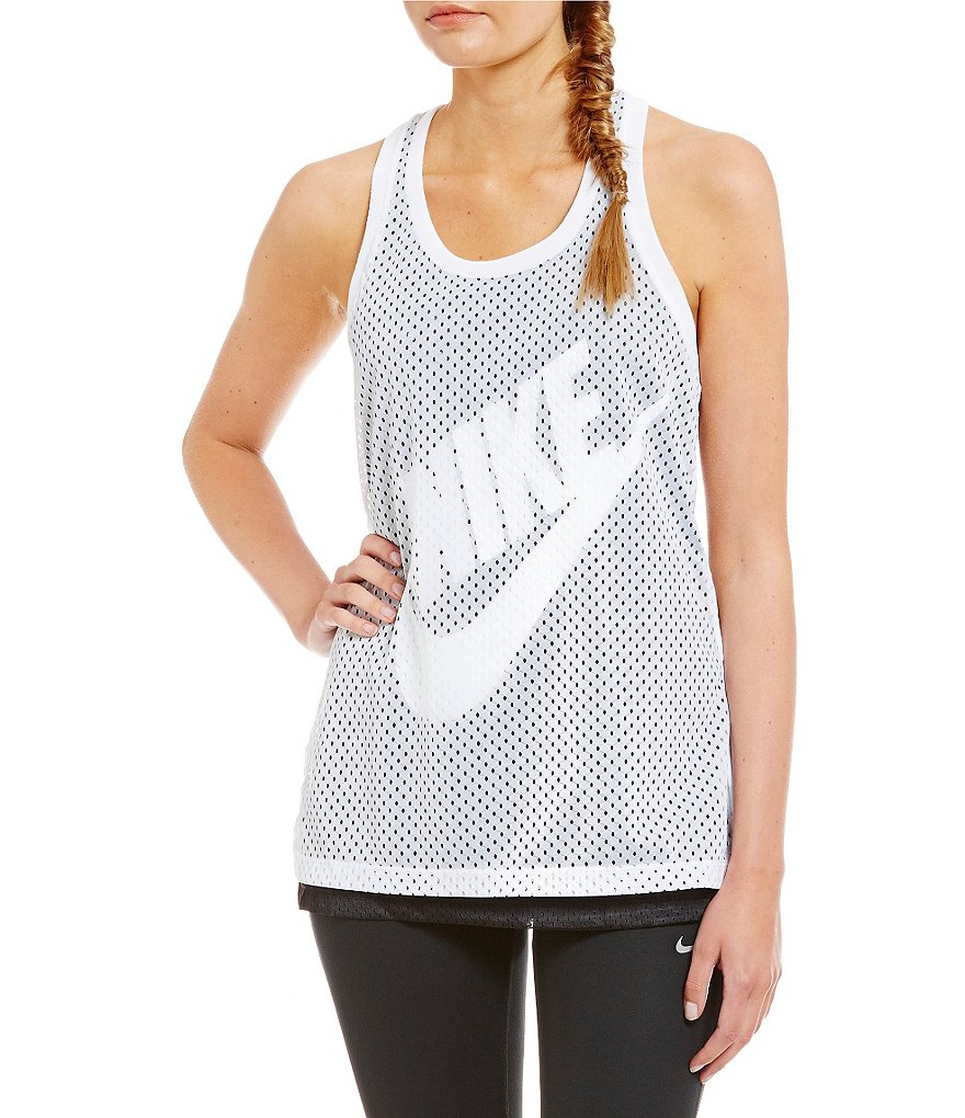 Nike Mesh Dual-Layered Tank Top