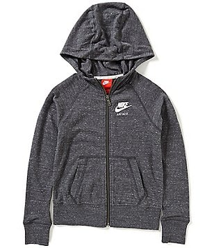 Nike Big Girls 7-16 Gym Vintage Full-Zip Hoodie